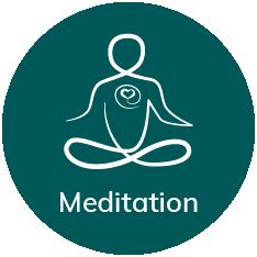 meditation ikon
