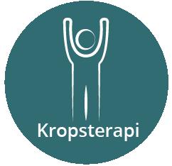 Kropsterapi ikon, menneske kroppen
